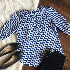 41 Hawthorn Stitch Fix blouse size M
